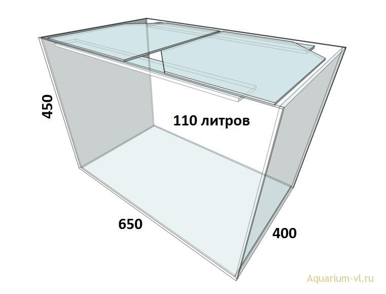 аквариум 110 литров сборка
