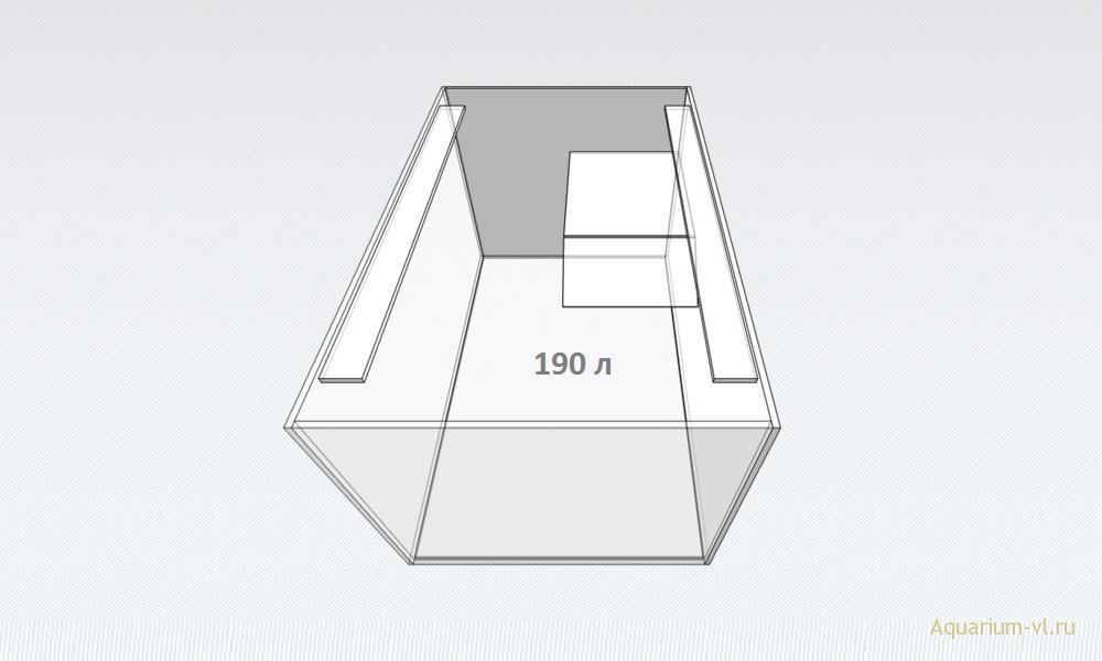 Террариум 190 л размеры