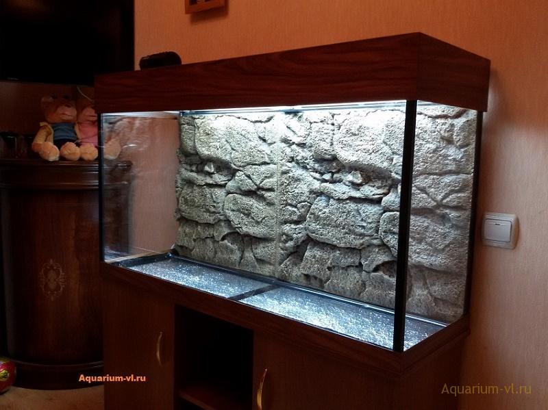 сборка аквариума 200 литров