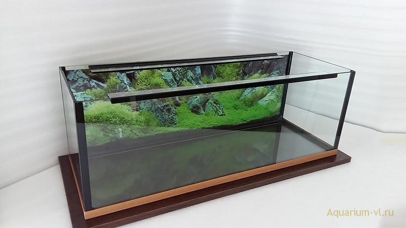 аквариум 30 литров с покровным стеклом