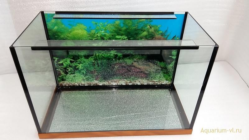 банка аквариума на 70 л