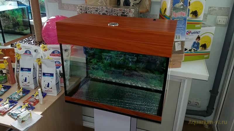 Прямоугольный аквариум 70 литров