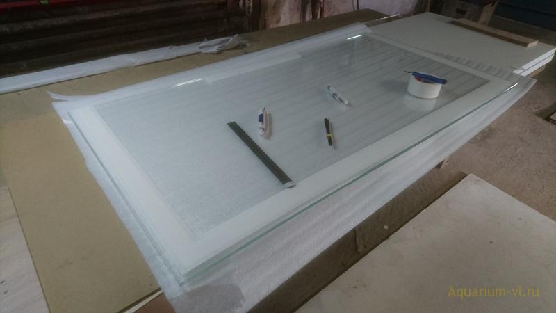 Аквариум 550 л стекло 12 и 10 мм