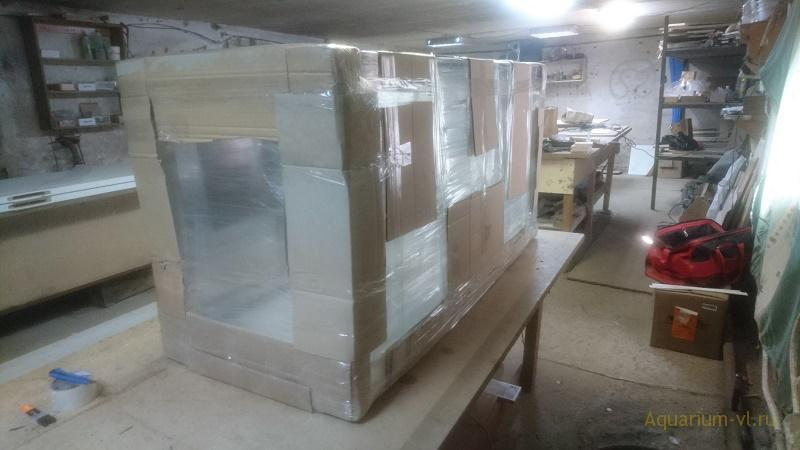 Упаковка аквариума 550 литров