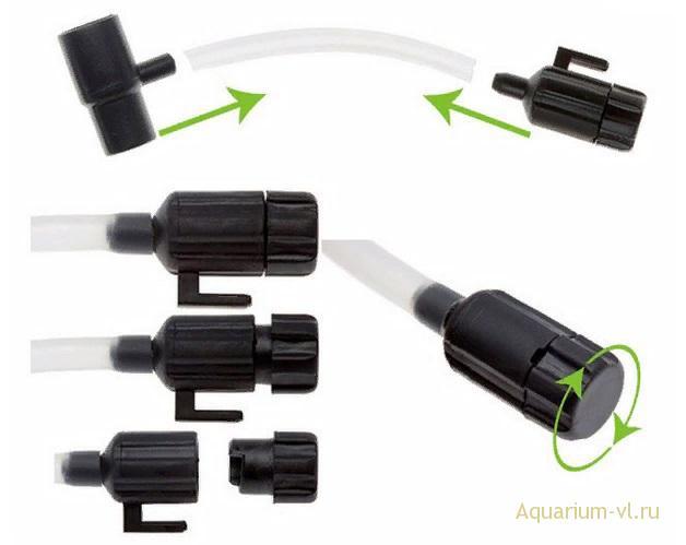 эксплуатация фильтра Aquael FAN