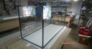 Изготовление аквариума 550 л