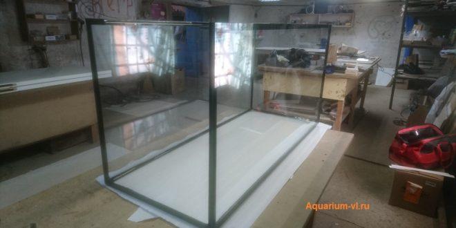 Изготовление аквариума 550 литров