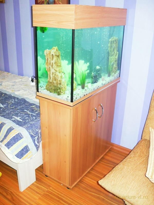 Сборка аквариума 100 литров