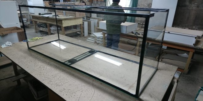Сборка аквариума 670 литров