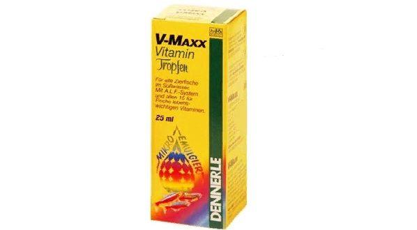 Dennerle V-Maxx Vitamin Tropfen: витаминные капли для рыб