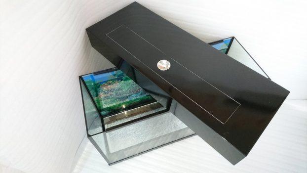 Прямоугольный аквариум 120 литров с крышкой