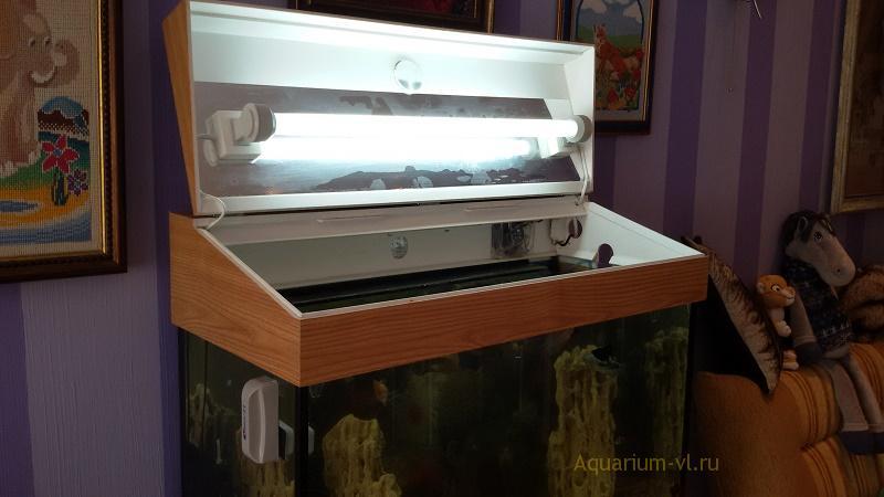 Крышка для аквариума с подсветкой
