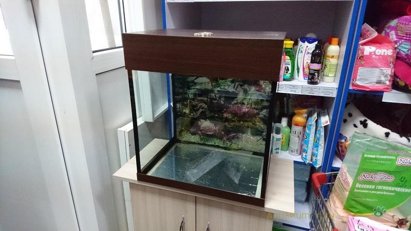 Внешние размеры аквариум 40 литров