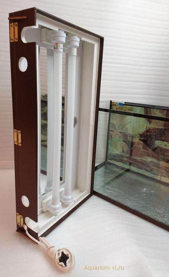 аквариум 80 литров размеры