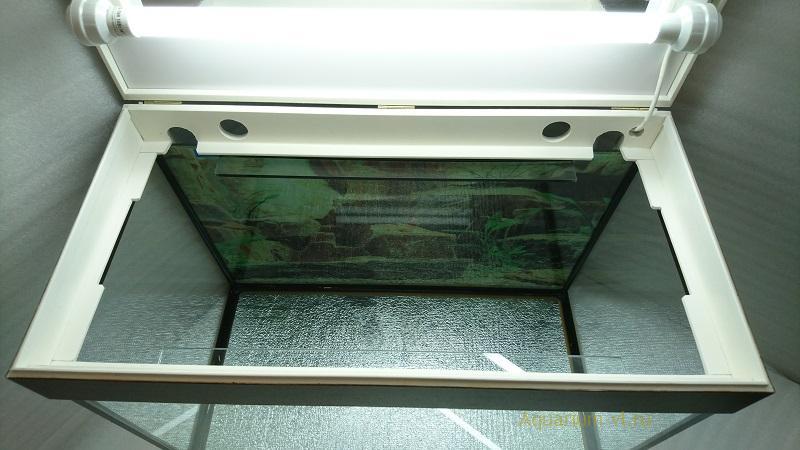 Аквариум 80 литров с крышкой