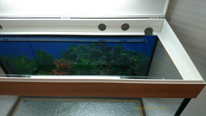 """Комплект аквариум 110 литров и крышка """"Классика"""""""