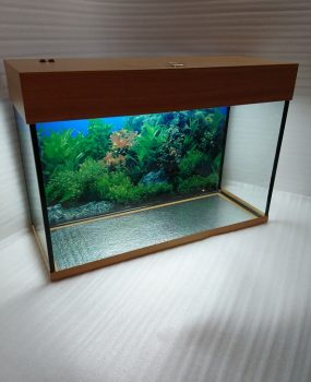 110 литров с подсветкой аквариум