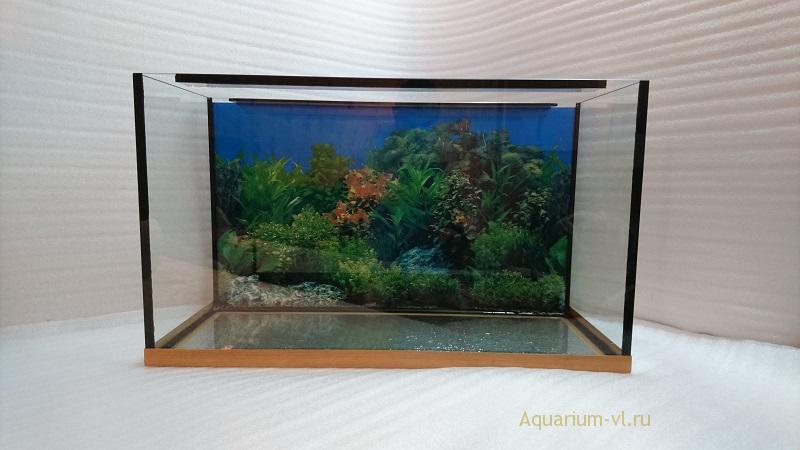 Аквариум 110 литров, стекло 6 мм