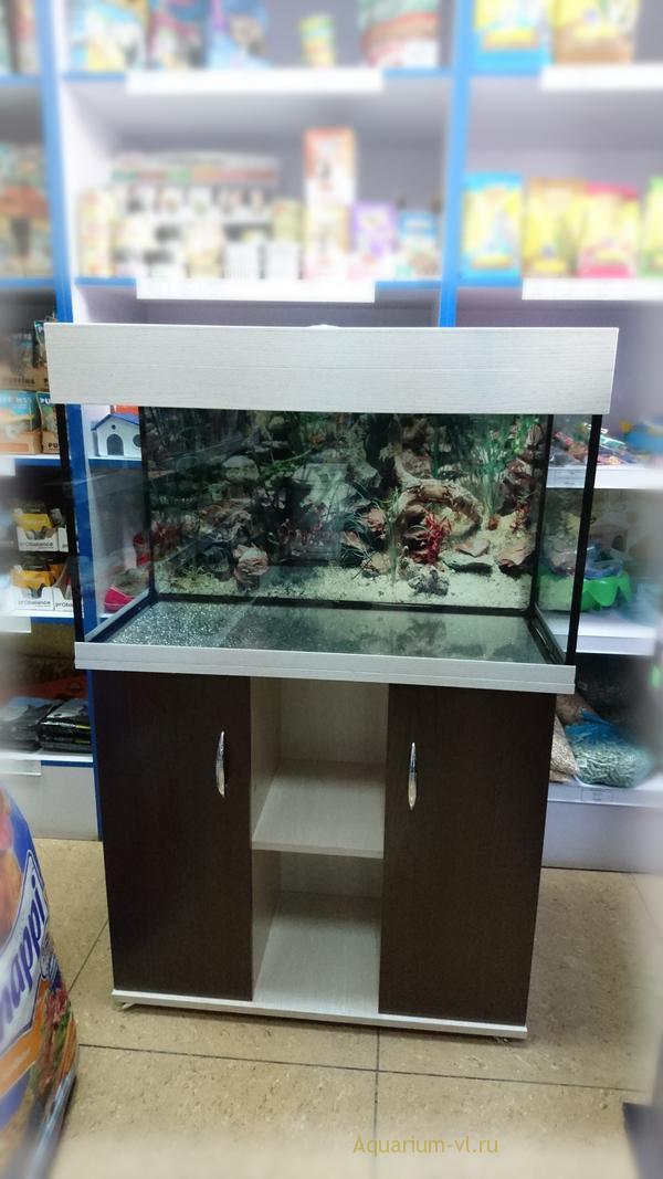 Прямоугольный аквариум 125 литров