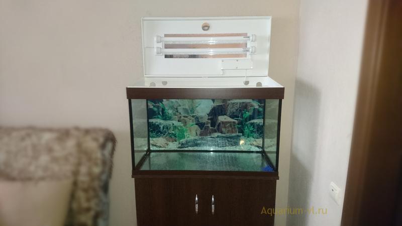 Цена на аквариум 130 литров