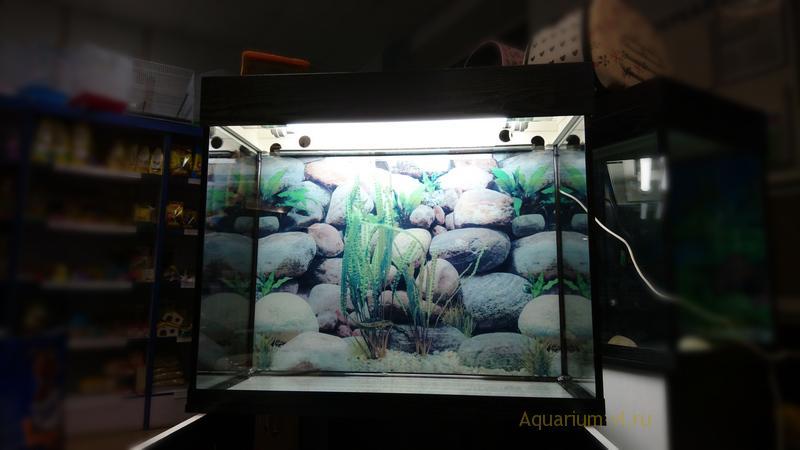 Новый аквариум 140 литров с тумбой