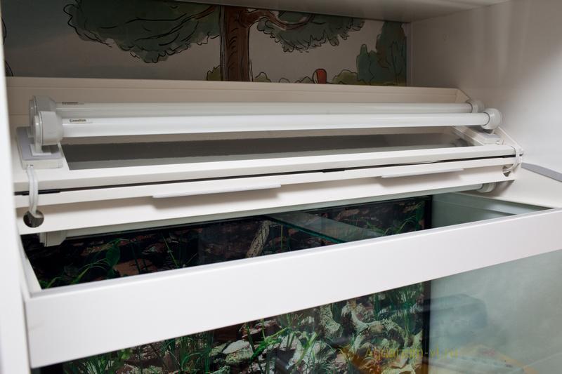 Размеры крышки аквариума 300 литров с тумбой