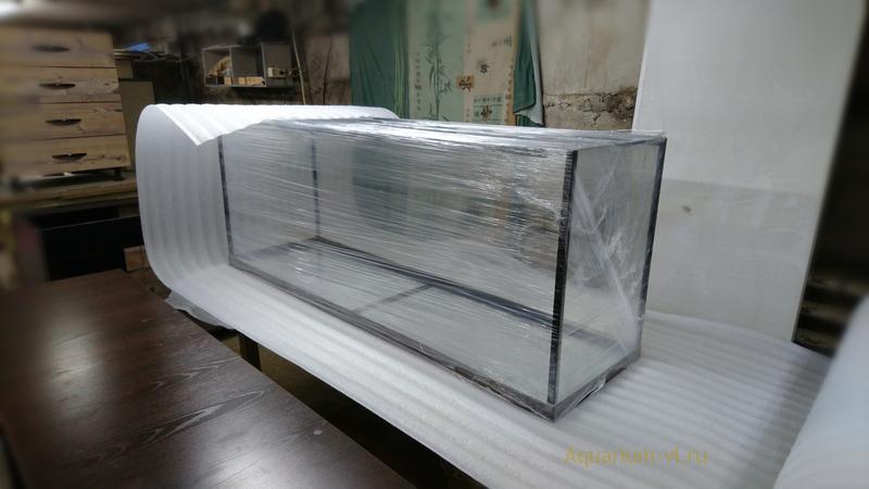 Упаковка аквариума 450 литров
