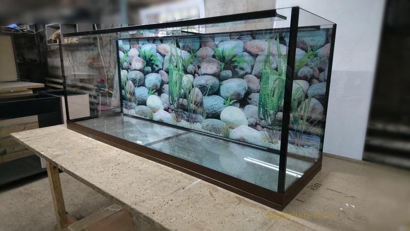 аквариум 450 литров без тумбы