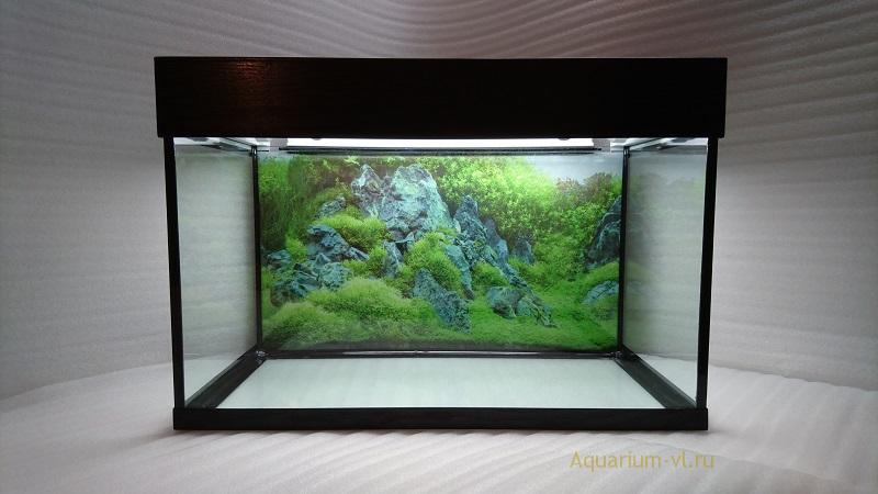 Недорогой аквариум на 90 литров