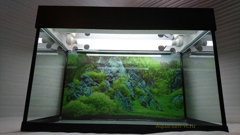 Размеры для сборки аквариума 90 л