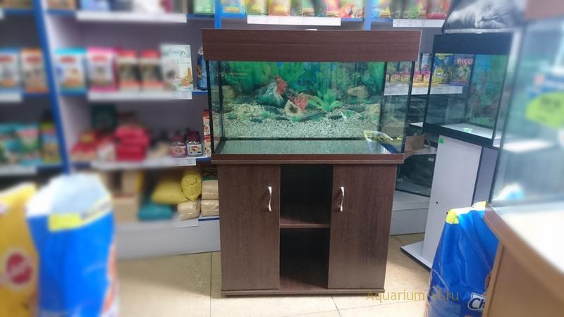 аквариум 150 литров с тумбой купить
