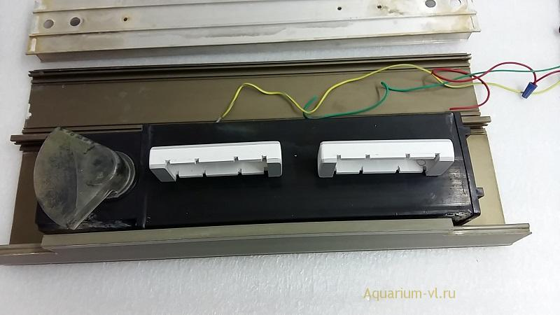 ремонт крышки аквариума освещение