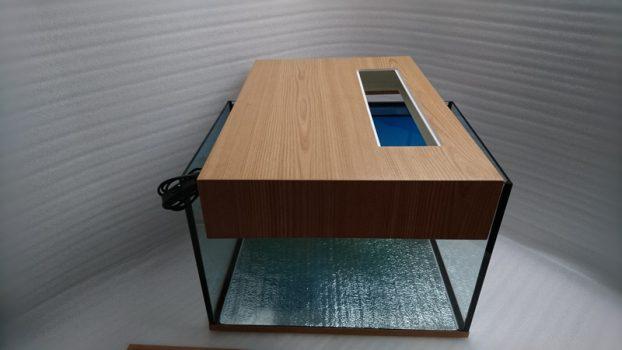 Сборка 100 литрового аквариума