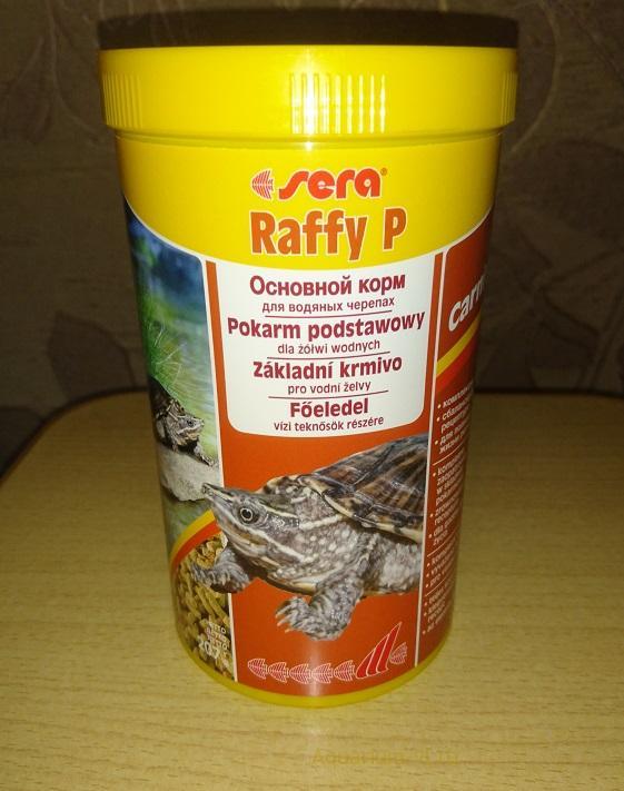 Sera Raffy P корм для черепахи