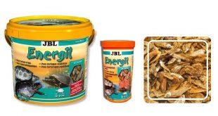 JBL Energil, корм из сухой рыбы для водных черепах
