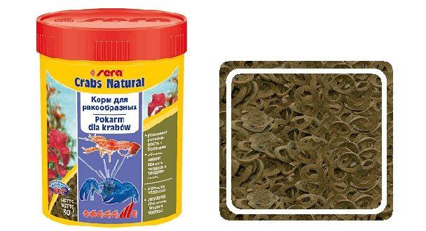 Корм для креветок SERA Crabs natural