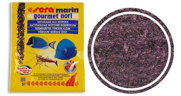Корм SERA Marin gourmet nori