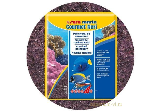 SERA Marin gourmet nori: лакомство для морских рыб