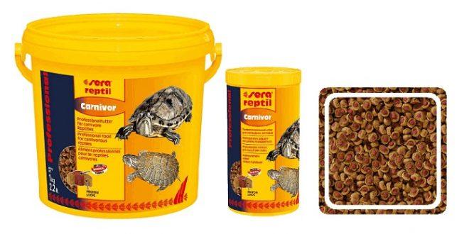корм для черепах SERA Reptil Professional Carnivor