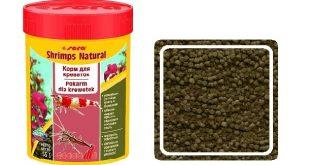 SERA Shrimps natural базовый корм для креветок