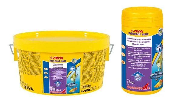 Смесь минералов и микроэлементов: SERA shrimp mineral salt