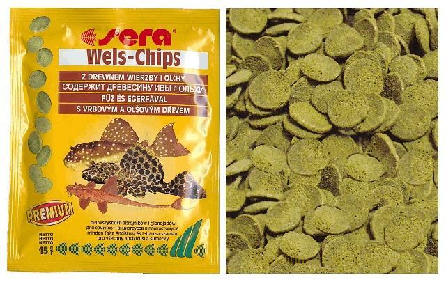 Стоимость корма Sera Wels Chips в интернет-магазинах