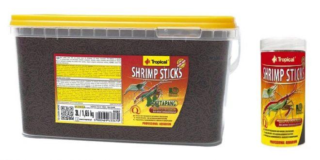 Основной корм для креветок Tropical Shrimp Sticks
