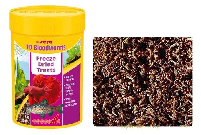 Рекомендации по применению SERA FD Bloodworms