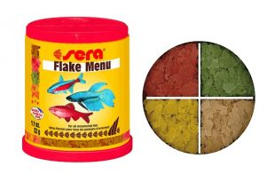 Хлопья SERA Flake Menu для всех видов рыб