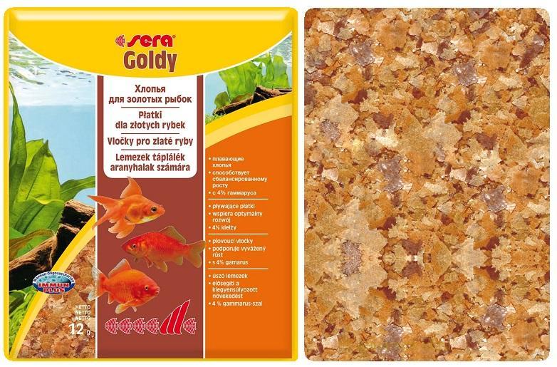 SERA Goldy – отличный корм для золотых рыбок