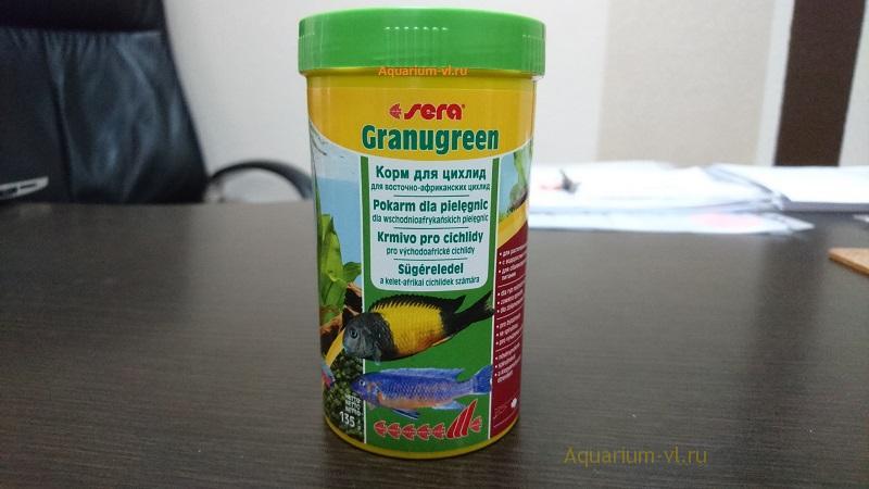 SERA Granugreen гранулированный корм для рыбок