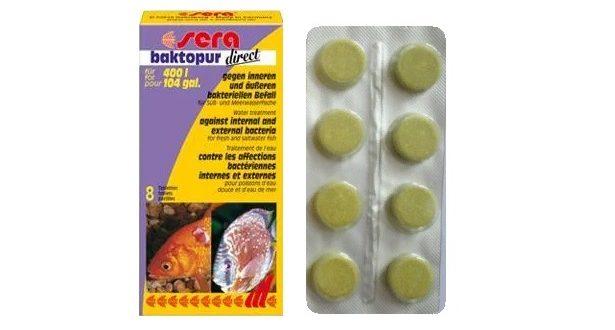 SERA baktopur direct средство для аквариумных рыбок