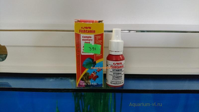 SERA fishtamin: витаминная добавка для морских и пресноводных рыб