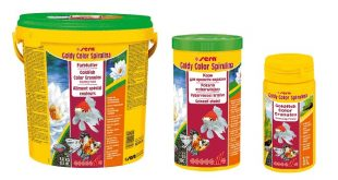 SERA goldy color spirulina корм для золотых рыбок